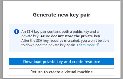 generate new key